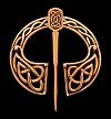 Bronzefibel Celtic